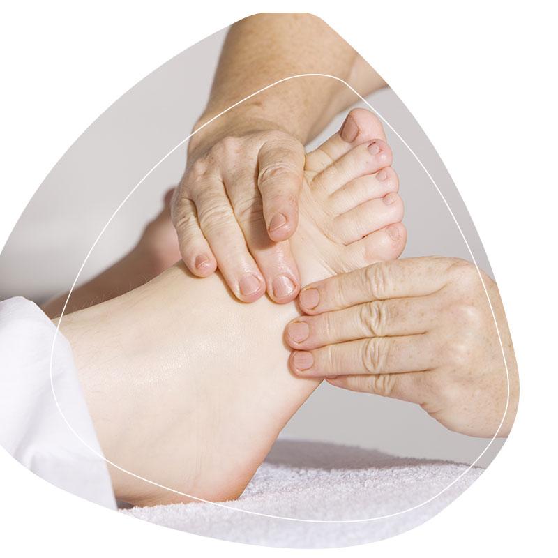 Osteopathie Kiel Fuß