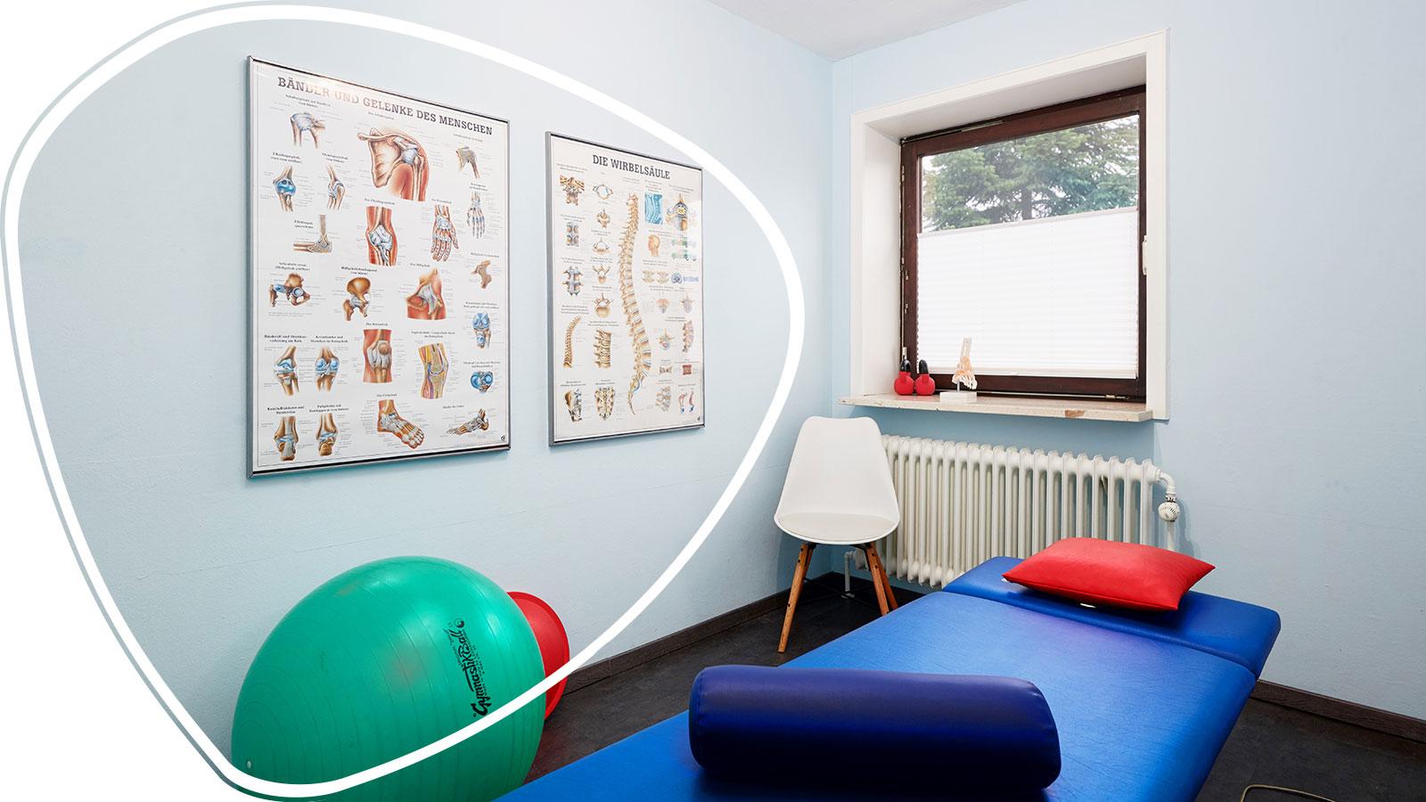 Osteopathie Kiel Raum Blau